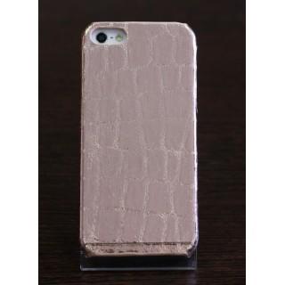Чехол из натуральной кожи коровы на iPhone 5/5s (золотой), , 1200,00 р., Чехол из натуральной кожи коровы на iPhone 5/5s (золотой), Чехлы, , Чехлы для iPhone 5/5s