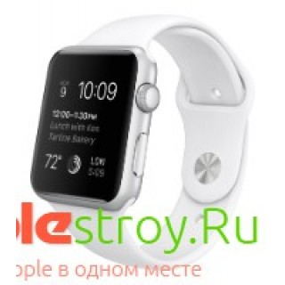 Watch 42 mm White or Black sport band (ремешок), , 35990,00 р., Watch 42 mm White or Black sport band (ремешок), Apple, Часы