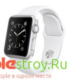 Watch 38mm White or Black sport band (ремешок)