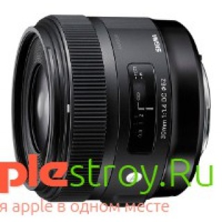 Sigma 30 mm f1.4 DC HSM for Canon, , 23761,00 р., Sigma 30 mm f1.4 DC HSM for Canon, Sigma, Объективы