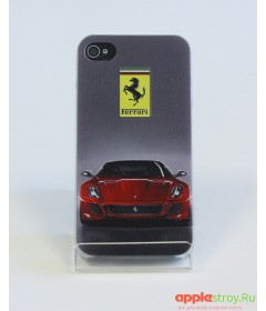 Чехол на iPhone 4/4s (Ferrari)