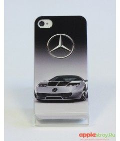 Чехол на iPhone 4/4s (Mercedes)