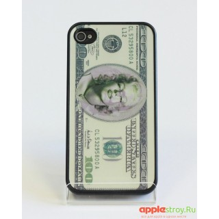 Чехол на iPhone 4/4s (Dollar)
