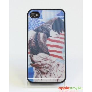 Чехол на iPhone 4/4s (Eagl)