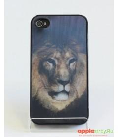 3d Case Чехол на iPhone 4/4s (Lion)