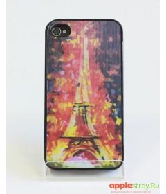 3d Case Чехол на iPhone 4/4s (Paris)