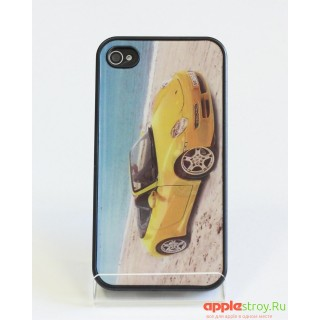 3d Case Чехол на iPhone 4/4s (Yellow-red car), 1569, 800,00 р., 3d Case Чехол на iPhone 4/4s (Yellow-red car), Чехлы для iPhone , , Чехлы для iPhone 4/4s