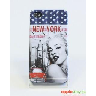 Merelyn Monroe №2 Чехол на iPhone 4/4s, 1532, 770,00 р., Merelyn Monroe №2 Чехол на iPhone 4/4s, Чехлы для iPhone 4/4s, , Чехлы для iPhone 4/4s