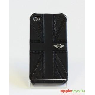 Mini Чехол на iPhone 4/4s (черный Британия), 1577, 950,00 р., Mini Чехол на iPhone 4/4s (черный Британия), Чехлы для iPhone 4/, , Чехлы для iPhone 4/4s