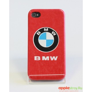 TPU Чехол на iPhone 4/4s (BMW red), 1537, 850,00 р., TPU Чехол на iPhone 4/4s (BMW red), Чехлы для iPhone 4/4s, , Чехлы для iPhone 4/4s