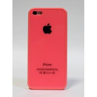 Original Case Чехол на iPhone 5C Apple Logo (розовый)