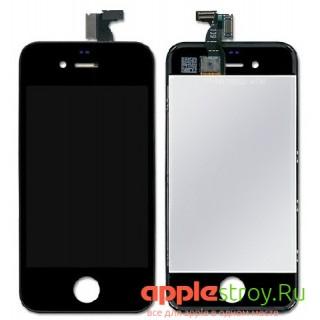 Дисплей для iPhone 4 в сборе (Original) черный, , 1400,00 р., Дисплей для iPhone 4 в сборе (Original) черный, , iPhone 4