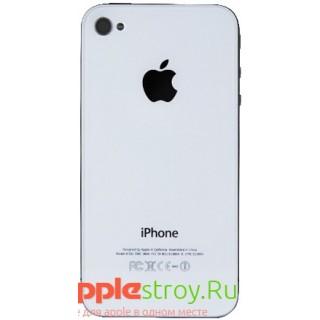 Задняя крышка для iPhone 4S (белый), , 300,00 р., Задняя крышка для iPhone 4S (белый), iPhone 4s, , iPhone 4s