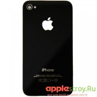 Задняя крышка для iPhone 4S (черный), , 300,00 р., Задняя крышка для iPhone 4S (черный), iPhone 4s, , iPhone 4s