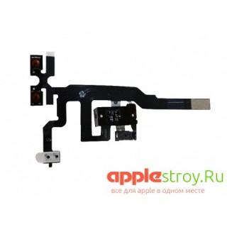 Аудио разъем+кнопки громкосит+вибро на iPhone 4 (черный), , 200,00 р., Аудио разъем+кнопки громкосит+вибро на iPhone 4 (черный), , iPhone 4