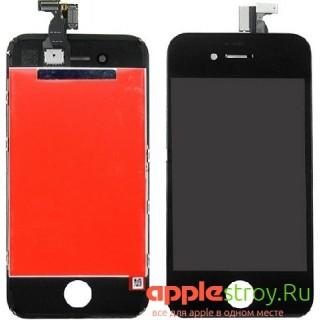 Дисплей для iPhone 4s (черный), , 1400,00 р., Дисплей для iPhone 4s (черный), iPhone 4s, , iPhone 4s